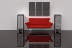 3d render room Royalty Free Stock Image