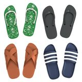 3d render of sandals Royalty Free Stock Image