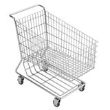3d render of shopping cart Royalty Free Stock Image