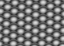 3d render of silver chrome balls Stock Photography