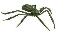3d render of spider Royalty Free Stock Photography