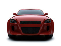 3d render sport car Royalty Free Stock Photos