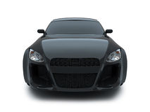 3d render sport car Royalty Free Stock Images