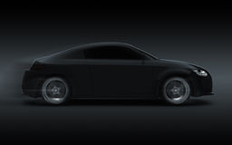 3d render sport car Royalty Free Stock Photo