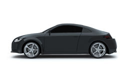 3d render sport car Stock Image