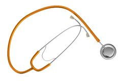 3d render of stethoscope Royalty Free Stock Photography