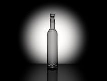 3d rendered bottle Royalty Free Stock Photos