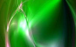 3D rendered fractal design. (abstract background Royalty Free Stock Photos