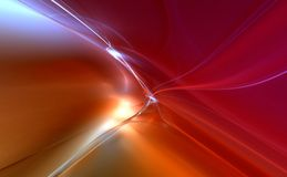 3D rendered fractal design. (abstract background Stock Photo