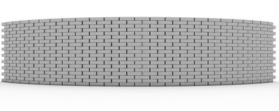 3D Rendered Wall Royalty Free Stock Photography