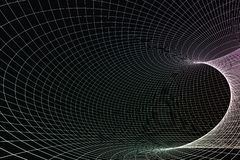 Free 3d Rendering, Curve Lines With Dark Background Royalty Free Stock Photos - 142837148