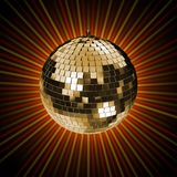 3d rendering of disco mirror ball royalty free stock photography