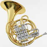 3d Rendering of a Double French Horn Stock Photo