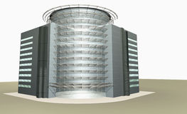 3D rendering of modern building Stock Images