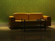 3d rendering modern sofa Stock Image