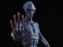 Free 3D Rendering Of An Alien Creature. Stock Photography - 89646452