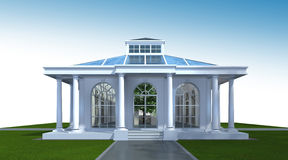 Free 3D Rendering Of Building Exterior. Architecture Perspective 3D  Stock Photos - 86137993