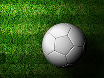 3d rendering of a soccer ball Royalty Free Stock Images