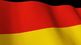 3d rendono della bandierina tedesca illustrazione di stock