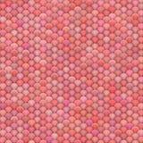 3d rendono delle palle lanuginose nei colori rosa-rosso multipli Fotografia Stock Libera da Diritti