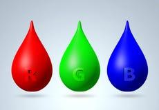 3D RGB color Stock Photos