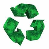 3d riciclano il marchio Fotografie Stock Libere da Diritti