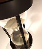 3D rinden de sandglass Imagen de archivo libre de regalías