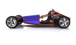 3D rindió el coche de deportes de la manía Imagen de archivo