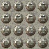 3D Riveted Steel Royalty Free Stock Photography