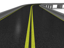 3d road Royalty Free Stock Photography