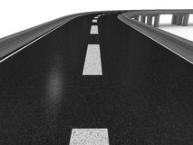 3d road Stock Photography