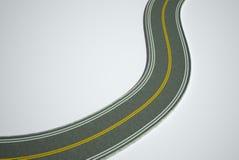 3D road illustration Stock Image