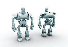 3d robot Stock Photos
