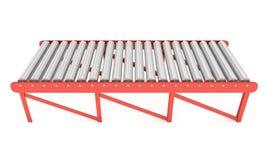 3d roller conveyor Stock Images