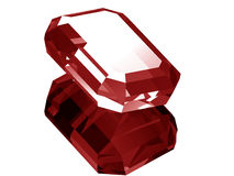 3d Ruby Royalty Free Stock Images