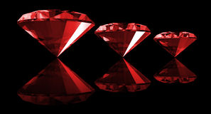 3d Ruby Gem Isolated Stock Images