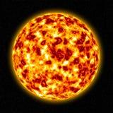3d słońce Obrazy Royalty Free