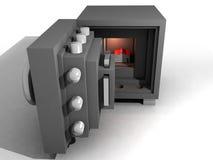 3d safe Стоковое фото RF