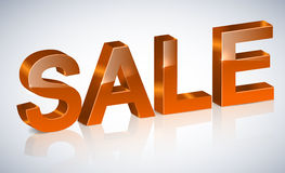 3D Sale Royalty Free Stock Photography
