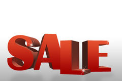 3D Sale illustration Stock Photos