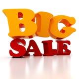 3d Sale text Stock Image