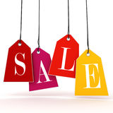 3d Sale text Royalty Free Stock Image