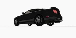 3d samochód ilustracji