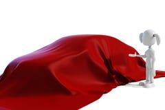 3d samochodowej dziewczyny nowy target1846_0_ Obrazy Royalty Free