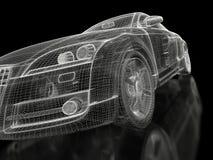 3d samochodowy sport Fotografia Royalty Free