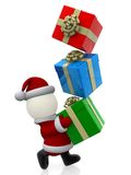 3D Santa Claus Stock Photos