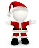 3D Santa Claus Stock Photography