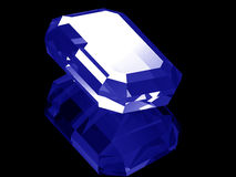 3d Sapphire Royalty Free Stock Image