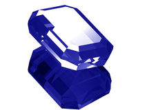 3d Sapphire Royalty Free Stock Images