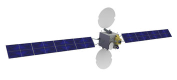 3d satellite geostationary Royalty Free Stock Photography
